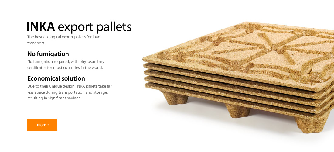 We recommend inka export pallets