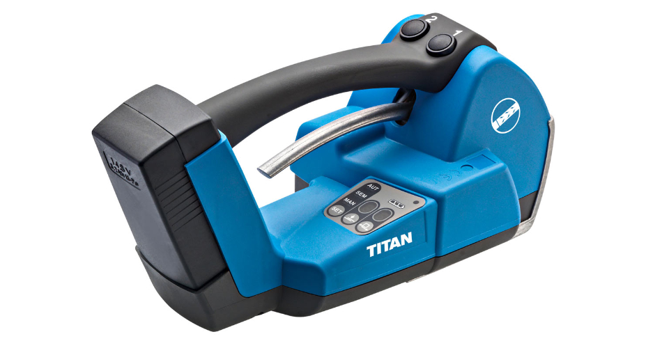 TITAN TA 450 strapping machine - Logispak