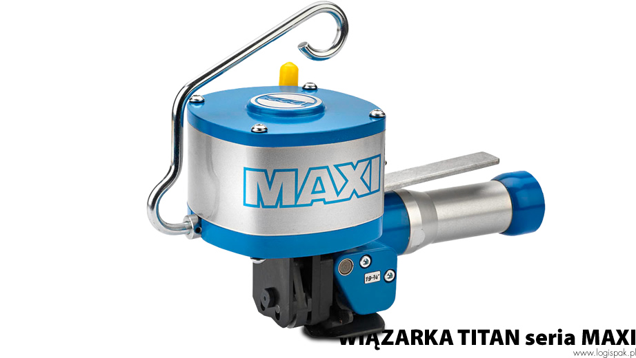 TITAN strapping machine of the MAXI series