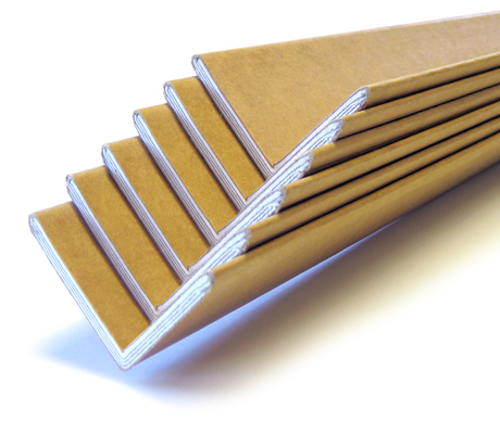 L-section cardboard angles